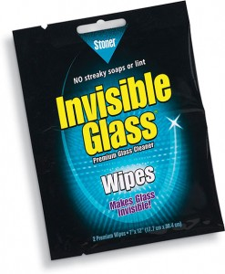 Free Invisible Glass Wipes
