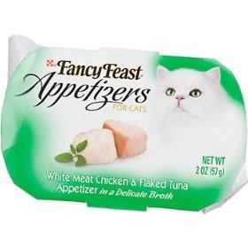 Comida p/ gatos - Fancy Feast Appetizers Fancy