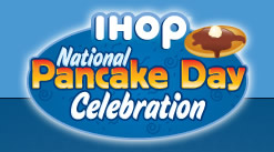 Free Pancakes at IHOP March 4th