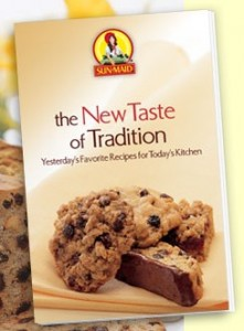 Free Sun Maid Taste of Tradition Recipe Booklet