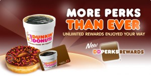 Dunkin Perks Free Beverage