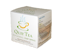 Free Sample of Quit Tea Herbal Quit Smoking Aid