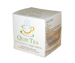 Free Sample of Quit Tea Herbal Quit Smoking Aid