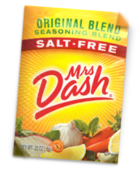 Free Sample of Mrs. Dash Seasoning Blend