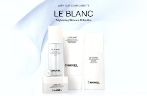 Free Samples of Chanel Le Blanc Skincare