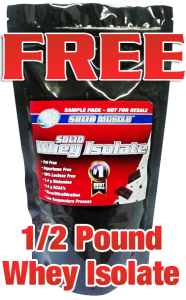 Free Solid Muscle Whey Protein Isolate