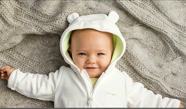Free Organic Cotton Newborn Onesie from H&M