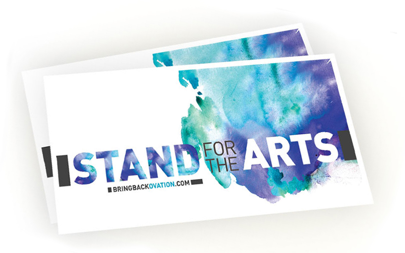 Free Stand For The Arts Sticker