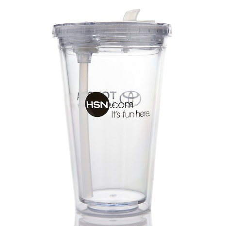 Free Toyota/HSN Plastic Tumbler and Straw