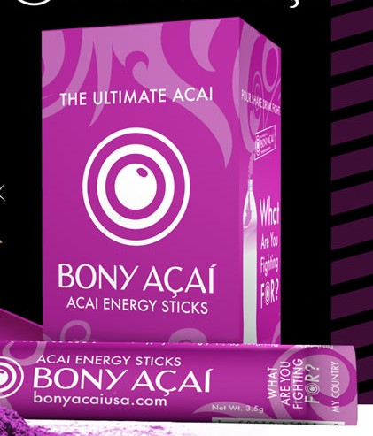 Free Bony Acia Energy Sticks Sample