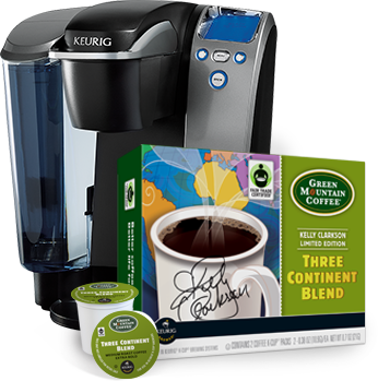 Free Green Mountain Coffee Three Continent Blend K Cup Sample Pack