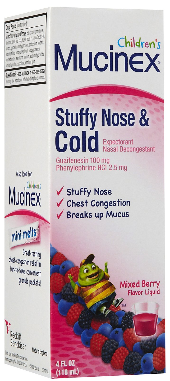 Possible Free Childrens Mucinex from Smiley360
