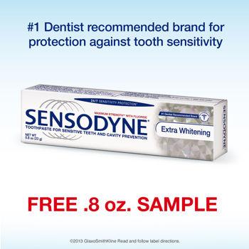 Free Sample of Sensodyne Toothpaste (Costco Members ...