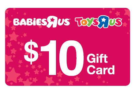 Free $10 BabiesRUs Gift Card if your Baby was Born in 2013