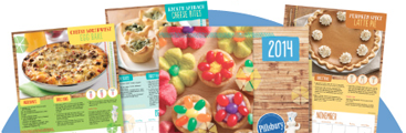 Free 2014 Pillsbury Calendar on 11/5