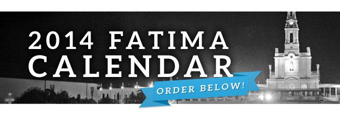 Free 2014 Fatima Calendar