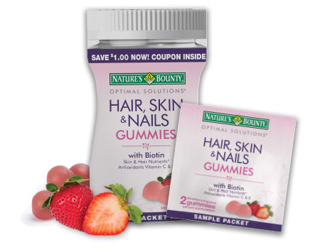 Free Natures Bounty Hair, Skin & Nails Gummies Sample