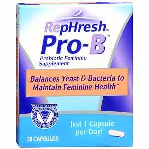 Free Sample of RepHresh Pro B Probiotic Feminine Supplement