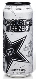 Free Rock Star Pure Zero Energy Drink Kum & Go Stores
