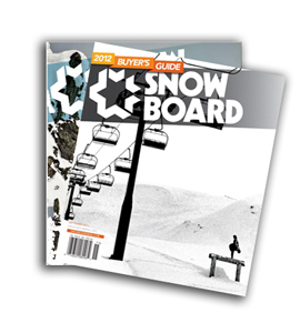 Free Subscription to SNOWBOARD Magazine