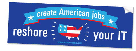 FREE Reshore Your IT Bumper Sticker