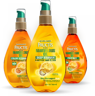 Free Garnier Fructis Marvelous Oil Sample
