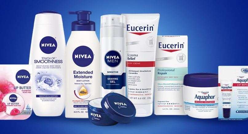 Free Nivea, Eucerin or Aquaphor Sample