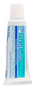 Free Sample of OraLine Toothpaste
