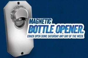 Free Magnetic Skoal Bottle Opener