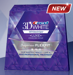 Free Sample of Crest 3D White Luxe Supreme FlexFit Whitestrips