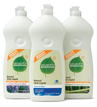 Possible Free Seventh Generation Detergent & Dish Liquid (Smiley360)