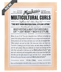 Free Sample of Miss Jessies MultiCultural Curls Packet