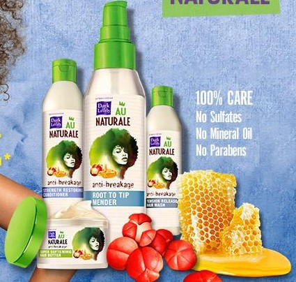 Free Dark and Lovely Au Naturale Hair Care Sample