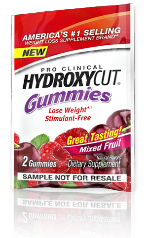 Free Hydroxycut Gummies Samples
