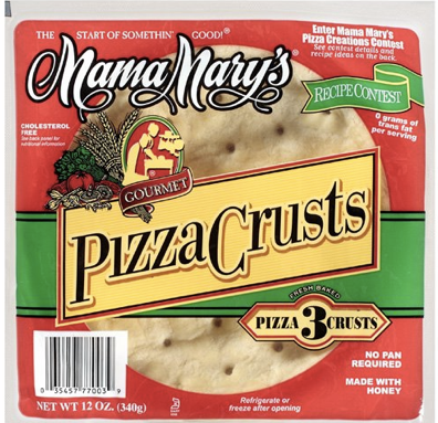 Free Mama Mary's Pizza Crust Coupon