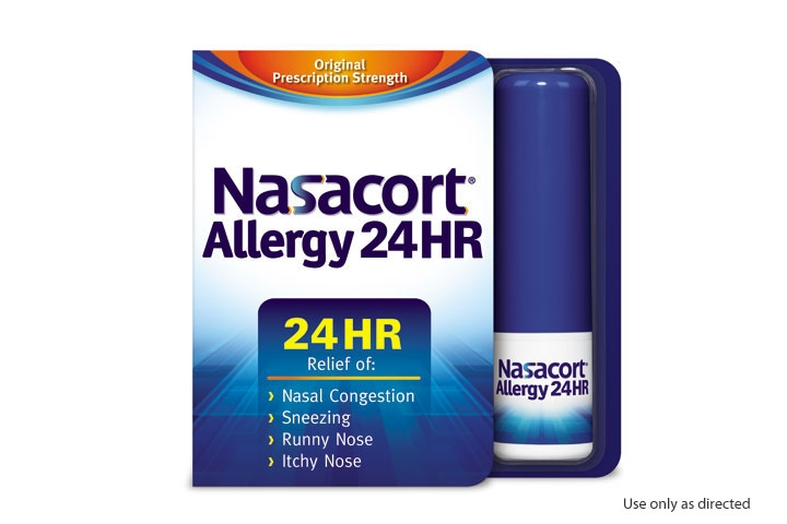 Free Nasacort Allergy 24HR Nasal Spray at 3pm ET