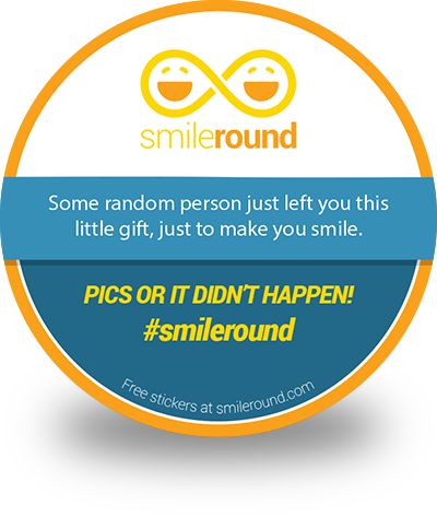 Free SmileRound Stickers