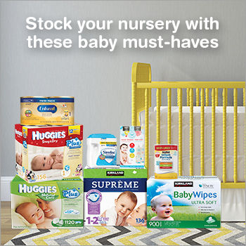 Free Newborn Baby Essentials Samples (Costco Members)