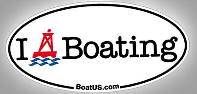 FREE I {buoy} Boating Decal