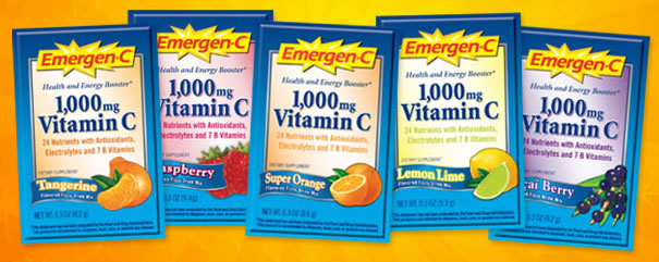 Free Sample of Emergen C