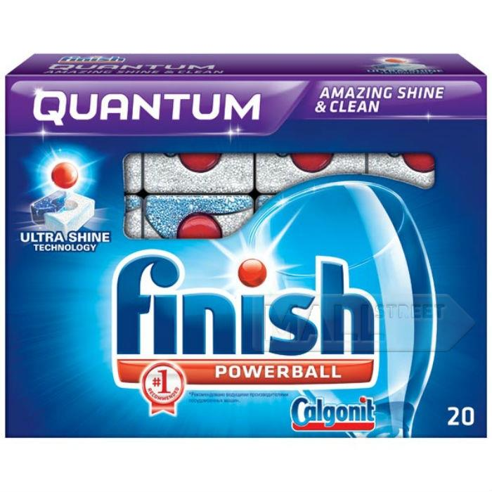 Free Sample of Finish Quantum Dishwashing Detergent