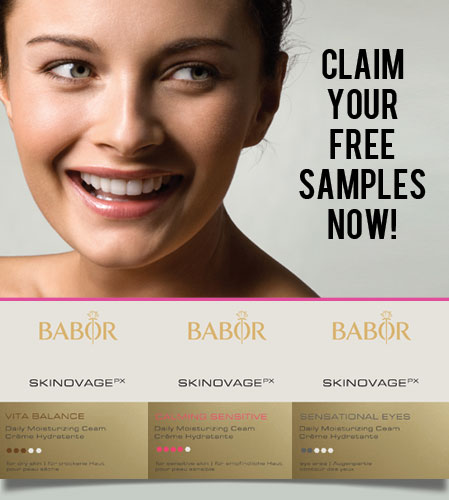 Free BABOR Luxury Skin Care Samples (Expired)