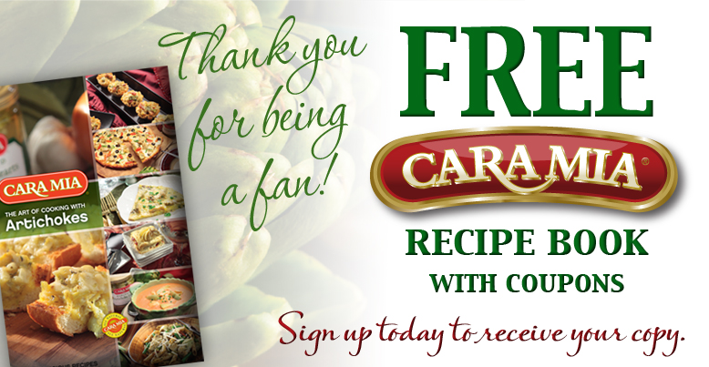 FREE Cara Mia Recipe Book With Coupons (1st 15,000)