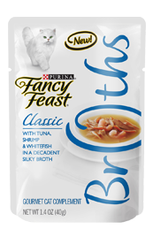 Free Fancy Feast Broths Cat Food Sample
