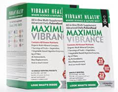 Free Vibrant Health Maximum Vibrance Supplement Sample