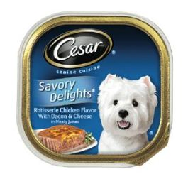 Free Cesar Canine Cuisine Dog Food