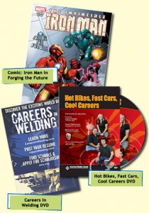 Free Careers in Welding Comic Book, Magazine and DVDs