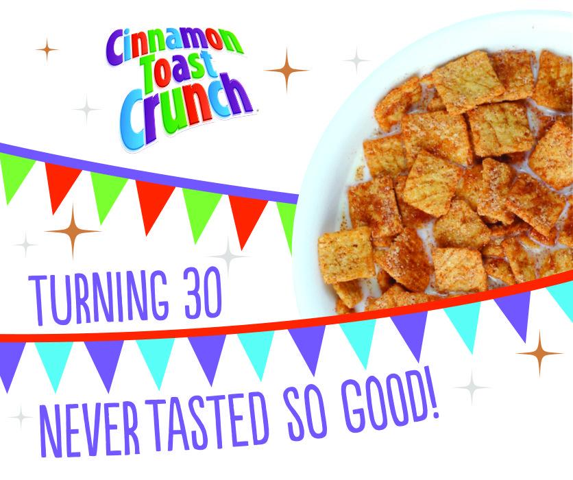 Free Sample of Cinnamon Toast Crunch