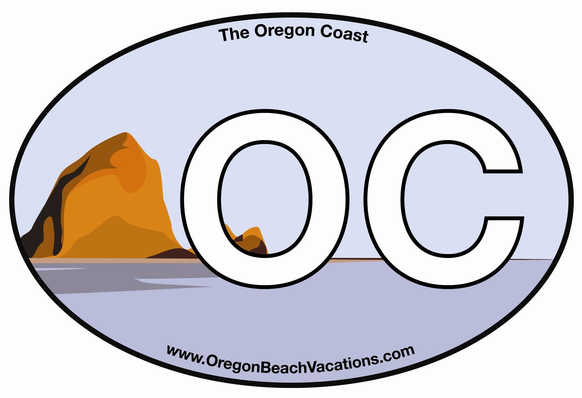 Free Oregon Coast Sticker