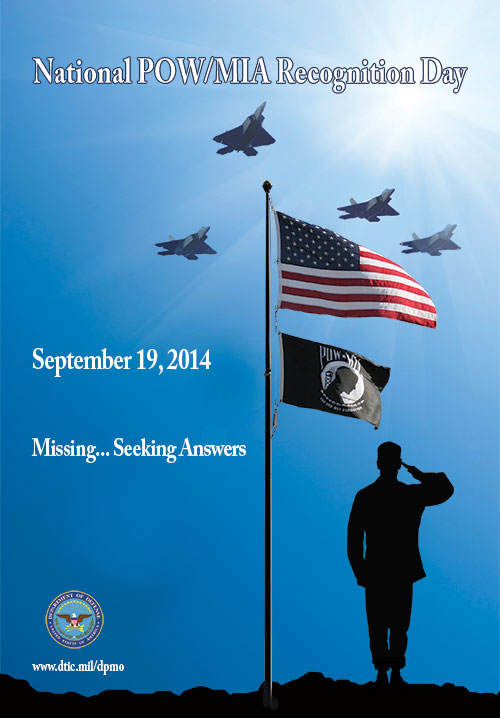 Free 2014 National POW/MIA Recognition Day Poster